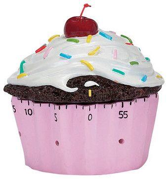 Kitchen Timer, Confetti Cupcake -