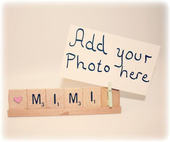 Mimi Photo, Mimi Gift, Grammy Photo Holder, Grammy Frame, Mom Gift, Grammy, Card Holder, Mimi, Photo Holder, Mom Frame, Grammy Frame, Nana