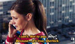 DAMMIT MOFFTISS! why don't you just RIP OUT MY HEART with these Sherlolly feels