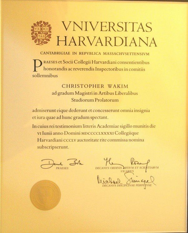 Harvard Extension School Resume Awesome What Does A Harvard Degree