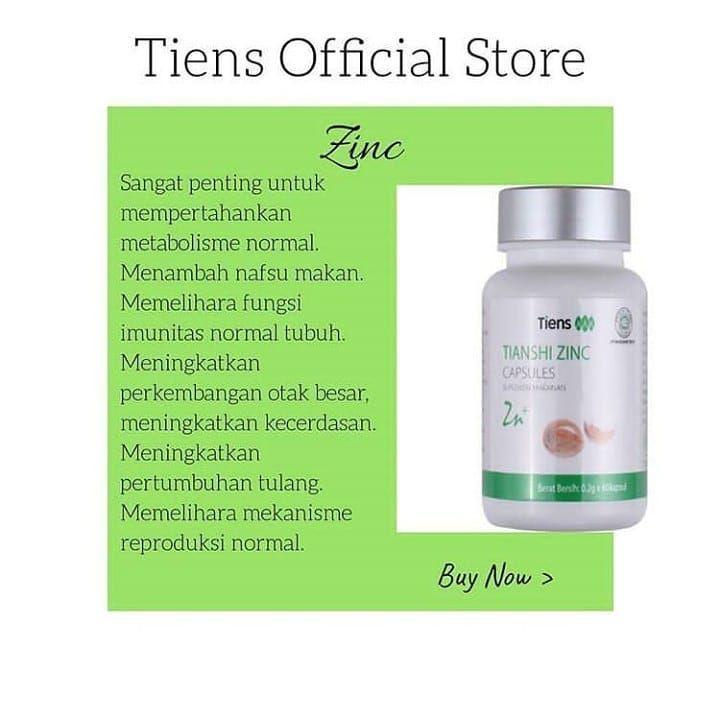 Kemasan Baru Zinc Capsule Tiens Manfaat Zinc Capsule Tiens Untuk Mempertahankan Metabolisme Normal Meningkatkan Pertumbuhan Dan Kulit Makanan Kemasan