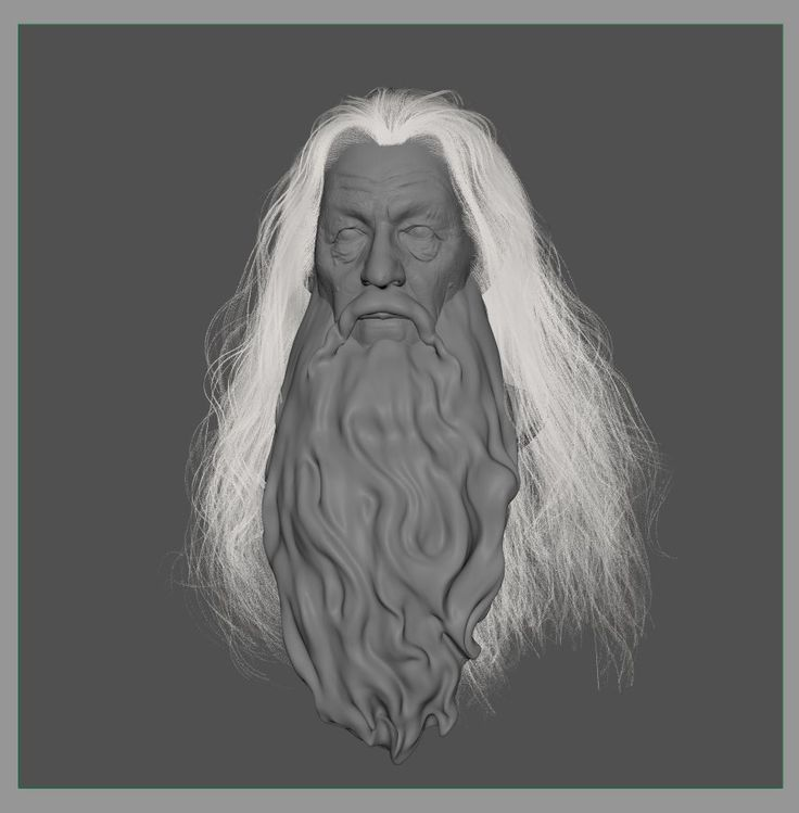ArtStation - Gandalf, Aaron Fang