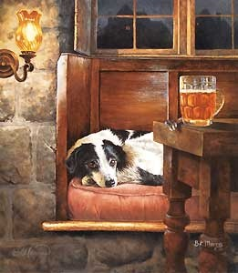 Where Best Friends are Welcome - Bonnie Marris - World-Wide-Art.com - $450.00