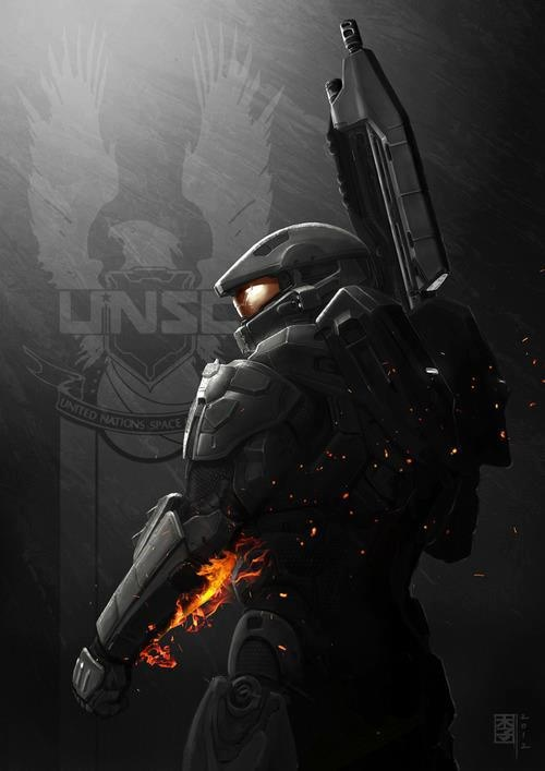 Halo 4. Master Chief