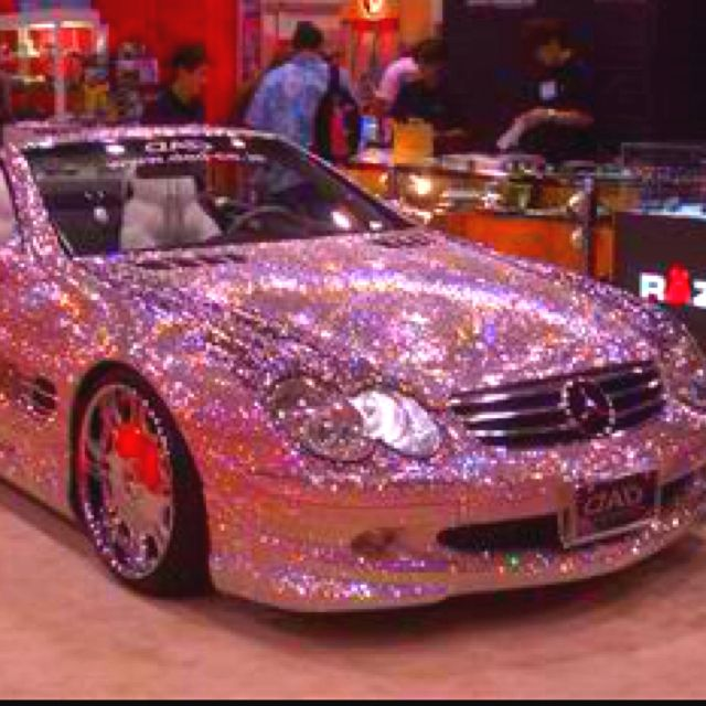 Oh Daddy please!!!!! It's just a pink diamond Mercedes!!! ;)