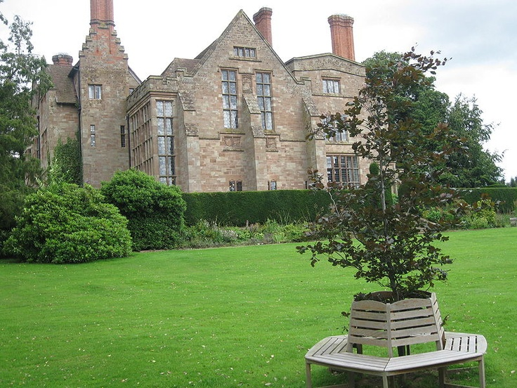 Adcote House and gardens - Richard Norman Shaw