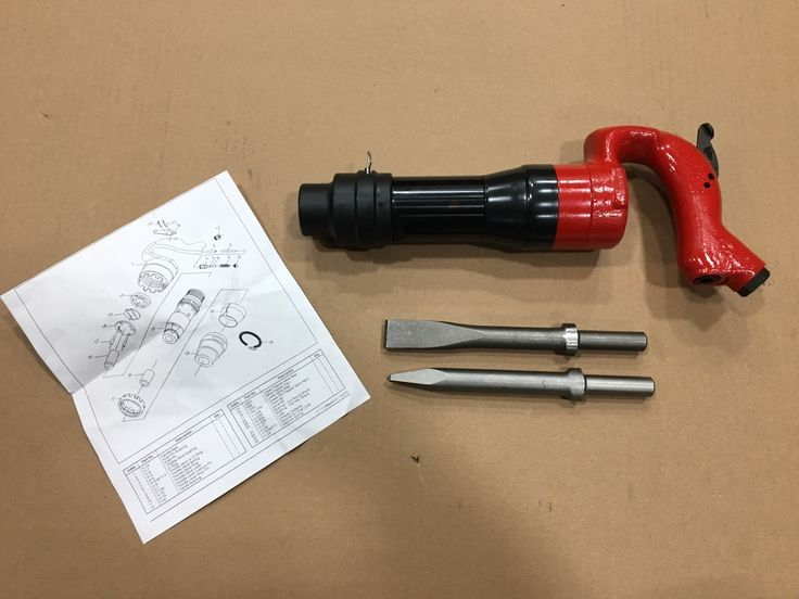 "E Air Tool 1 - Pneumatic Chipping Hammer MP-2820 2"" Stroke Demolition Hammer, $149.99 (http://www.eairtool1.com/pneumatic-chipping-hammer-mp-2820-2-stroke-demolition-hammer/)"