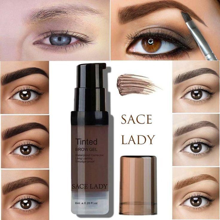 6 Colors Women Eyebrow Dye Brow Gel Waterproof Mak…