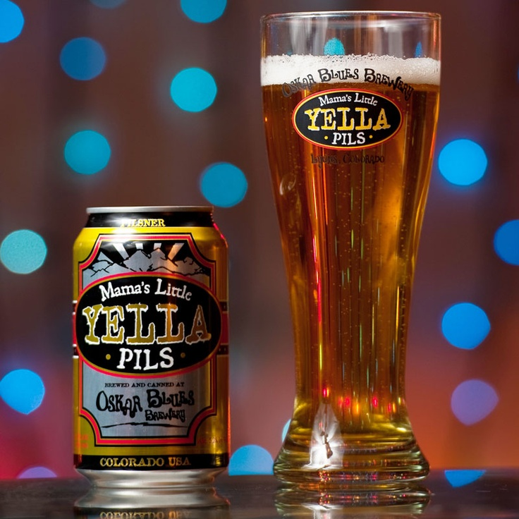 When I'm craving a tasty light beer, I go for the Yella