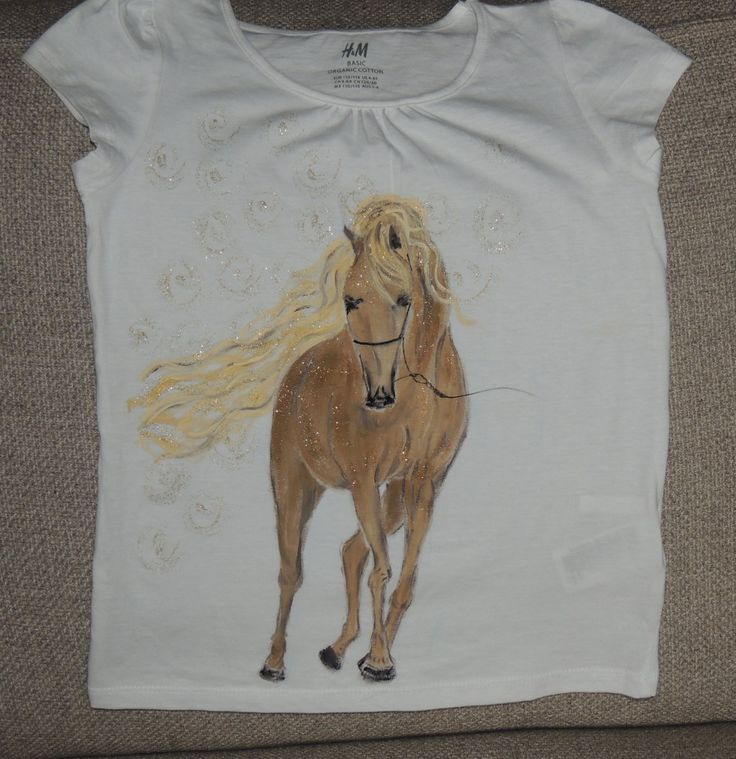Palomino - detské tričko https://www.facebook.com/KarolinaKaroli.malovanienahodvab?ref=hl karoli.sk