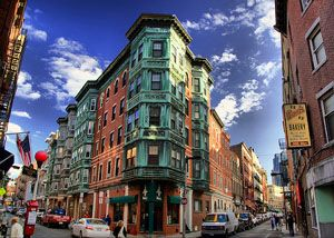 North End, Boston, MA. If I lived here, I would eat all. day. long.
