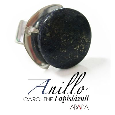 Anillo Caroline Lapislázuli