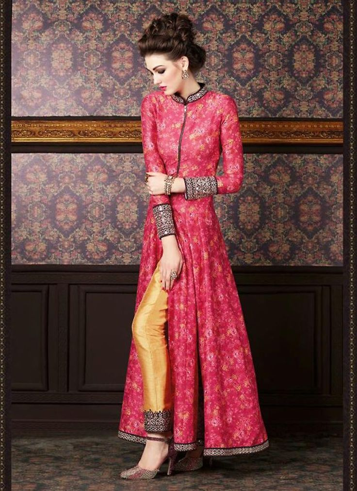 Buy indian Designer Anarkali salwar Kameez @http://www.maalpani.com/latest-arrivals.html
