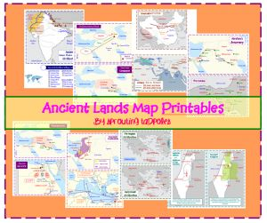 Ancient Lands Printable Maps (already downloaded)