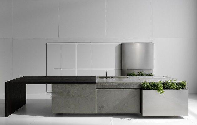 Martin Steininger . concrete kitchen
