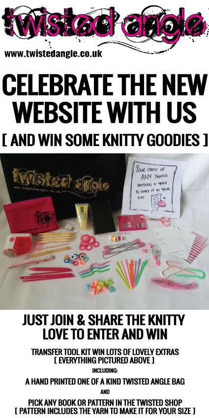 Want to enter this competition? Enter at http://contest.io/c/irlzfudf or   https://www.facebook.com/TwistedAngleFashionKnits/app_474315862613544