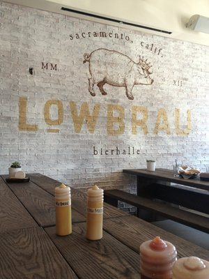 LowBrau's graphic wall