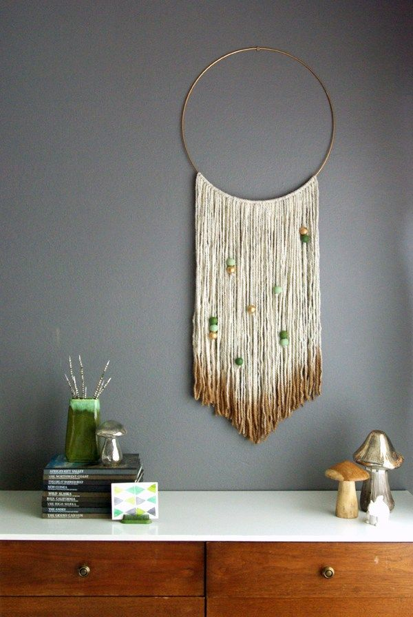 18 best yarn wall art images on pinterest tapestries yarn wall 20 easy diy yarn art wall hanging ideas solutioingenieria Images