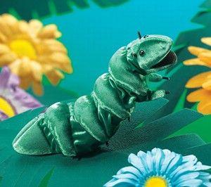 Caterpillar Hand Puppet  |  Folkmanis