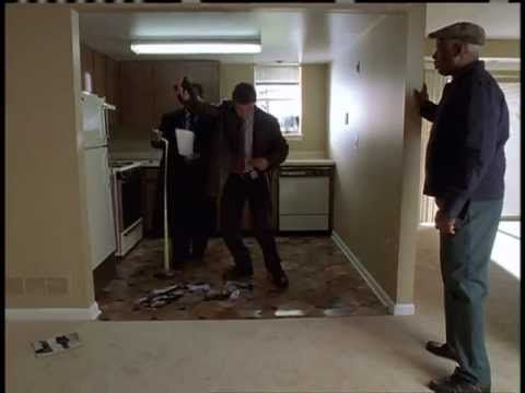 The Wire - Episode 4 - Season 1. Det. Jimmy McNulty (Dominic West) & Det. Bunk Moreland (Wendell Pierce) on a crime scene. Funny acting. Warning: May contain...