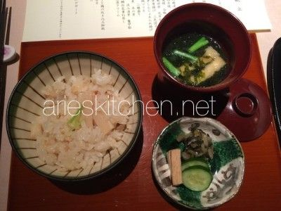 Japanese Fried Rice and Miso Soup