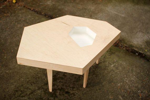 Modern Coffee Table Maple Plywood 35 x 27 x 17 by MichaelArras, $299.00