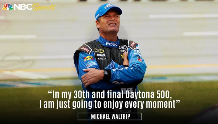 Michael Waltrip will retire from NASCAR after the 2017 Daytona 500