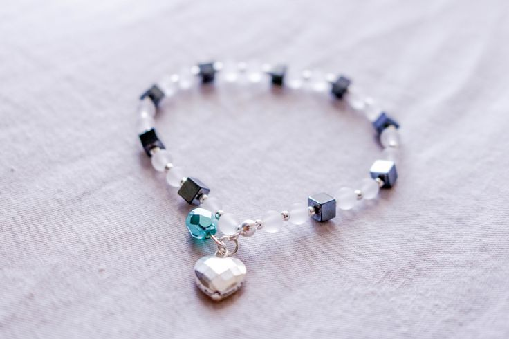 A personal favourite from my Etsy shop https://www.etsy.com/ca/listing/488865950/beaded-gemstone-bracelet-with-matte