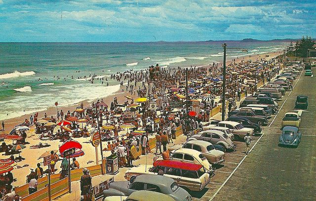 Surfers Paradise beach 1950s | Flickr - Photo Sharing!