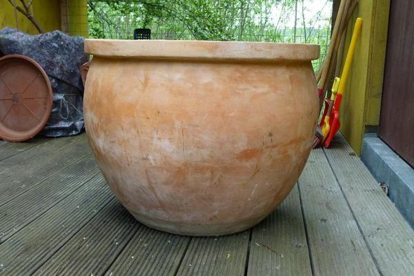 Terracotta Pflanzkübel groß » Sonstiges für den Garten, Balkon, Terrasse