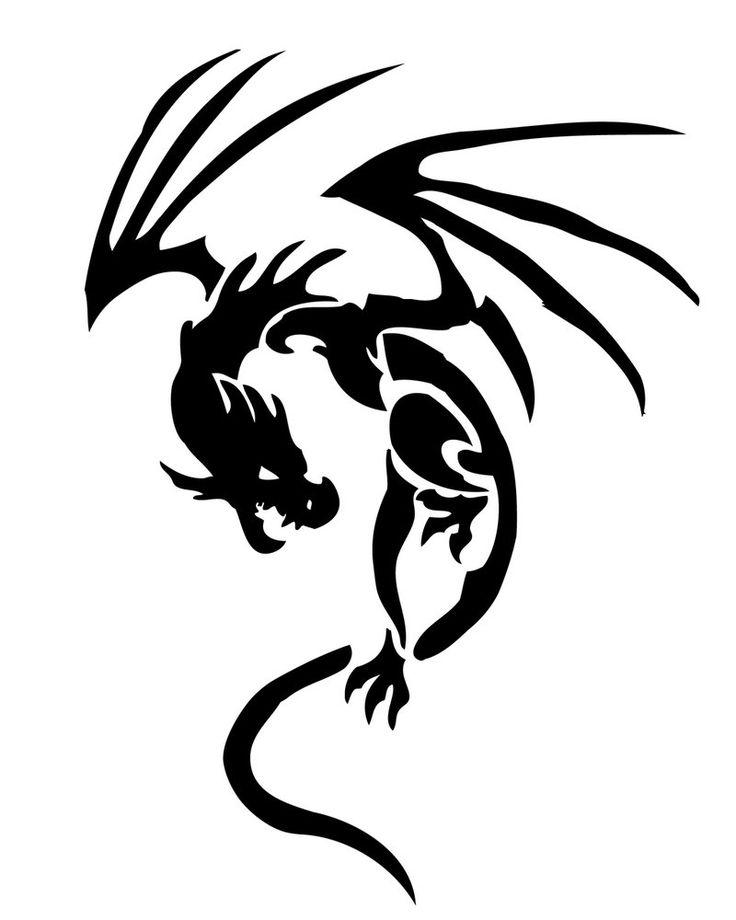 tatuaggi draghi tribali | Dragon Tribal 2 by YuzukiMadoko on DeviantArt