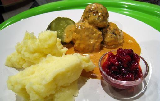 Ruotsalaiset lihapullat pekonilla