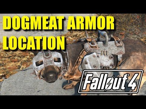 Fallout 4 Tips 'n Tricks | DOGMEAT ARMOR LOCATION! - YouTube