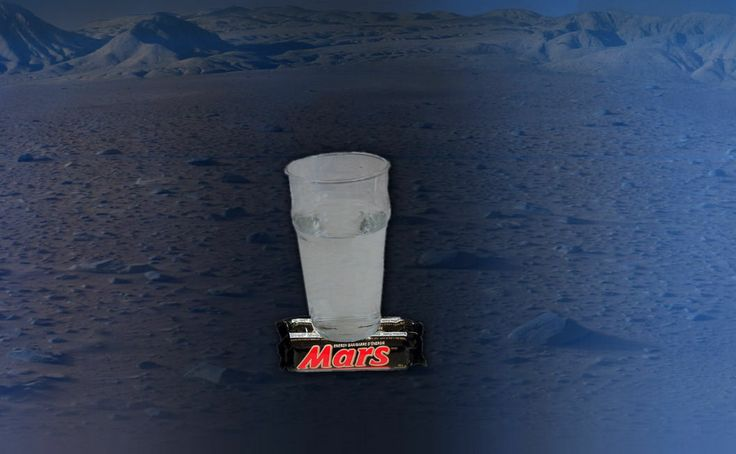 New Curiosity picture shows there is water on Mars