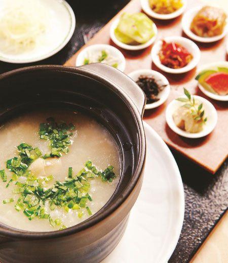 中華粥 chinese rice gruel