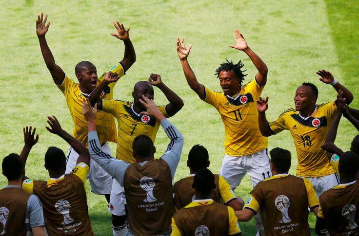 Congratulations Colombia pic.twitter.com/FxxdVEeota