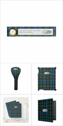 Pin By Leahg Designer On Find Your Surname Tartan Here A Z Clan Pattern Gifts Decor Accessories Personalized Monogrammed Modern Mackenzie