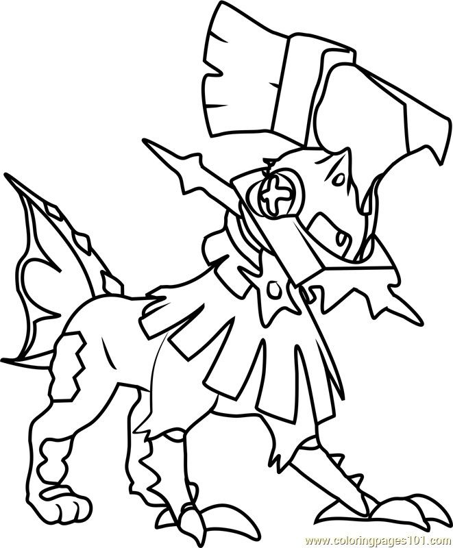 Pokemon Coloring Page Printable Necrozma Pokemon Coloring Page Free Printable Coloring Pokemon Coloring Pages Pokemon Coloring Shopkins Colouring Pages