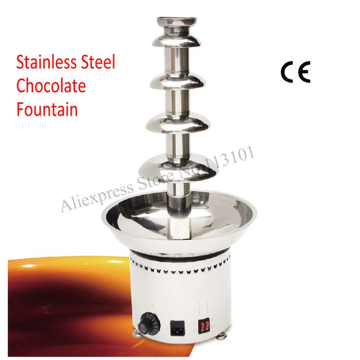 Chocolate Fountain Syrup | Chocolate fountain machine 4 levels stainless steel chocolate fountain ...