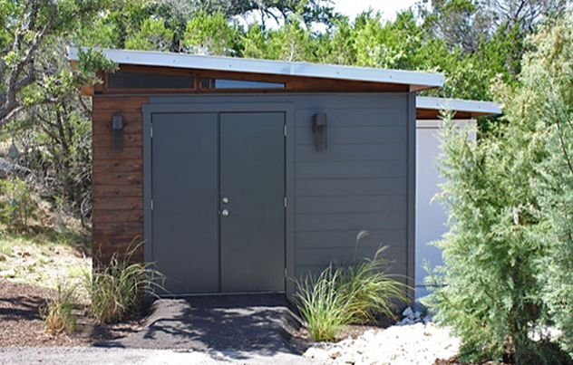 1000 ideas about storage shed kits on pinterest storage for Shed guest house kit