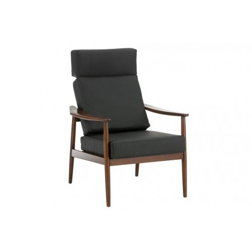 Replica Arne Vodder Easy Chair in Leather