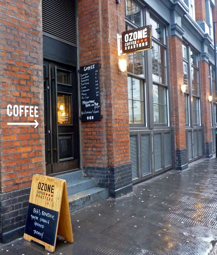 Ozone Coffee Roasters | London / Leonard Street - A great place for lunch, coffee, working