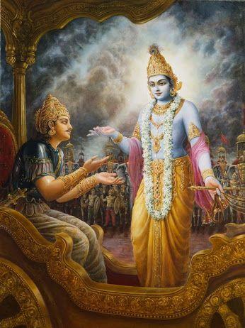 Bhagavad essay gita in theme