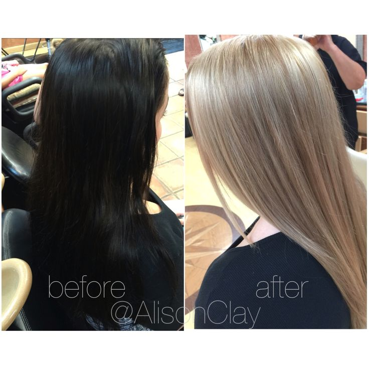 INSTAGRAM: @AlisonClay BEFORE // AFTER color correction ...