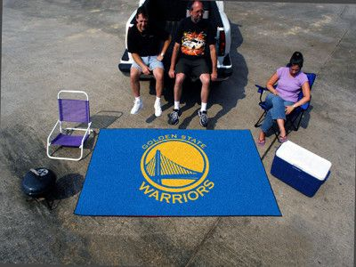 """The Golden State Warriors Ulti-Mat 60"""" x 96"""" Area Rug and Tailgating Mat"""