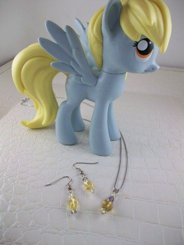 Derpy Hooves Cosplay Jewelry Set My Little Pony Friendship is Magic | SGalindoDesign - Jewelry on ArtFire