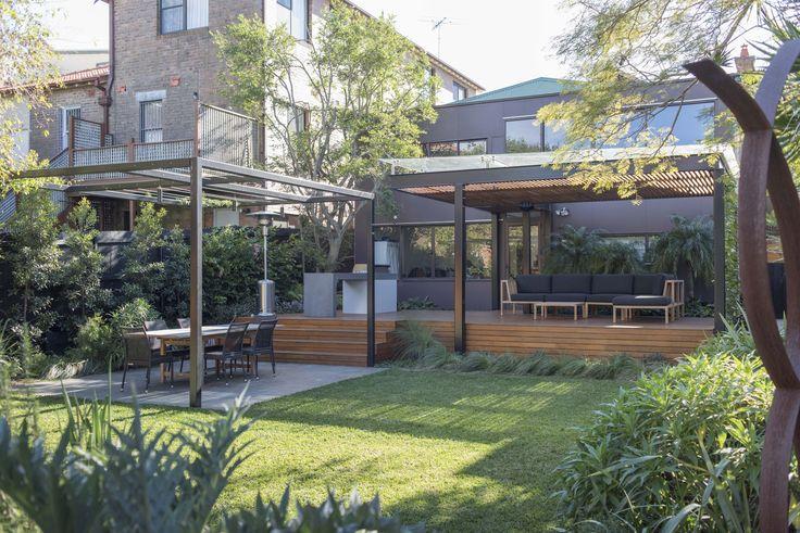 Classic back garden