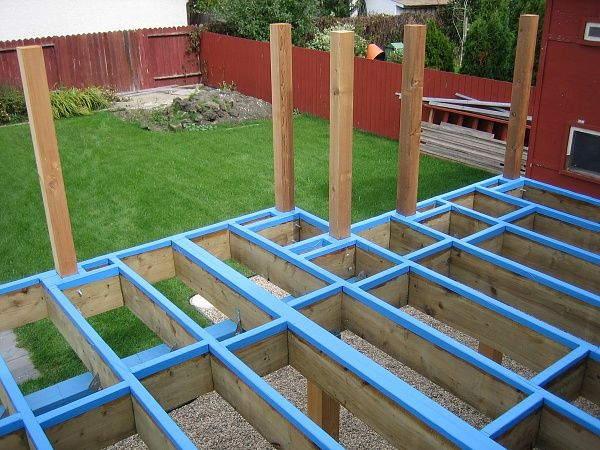 how to build a porch | Newbie Needs To Build A Deck Addition - Building & Construction - DIY ...