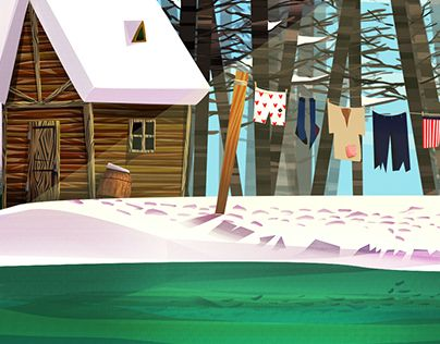 """Check out new work on my @Behance portfolio: """"Woods make good dryers"""" http://be.net/gallery/37829947/Woods-make-good-dryers"""
