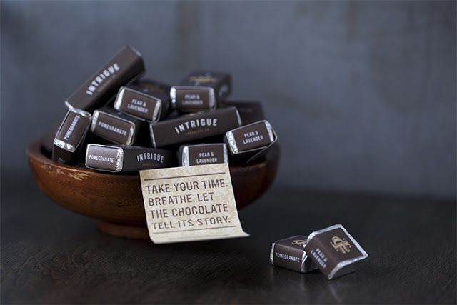 Intrigue Chocolate Co. on Packaging of the World - Creative Package Design Gallery